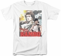Rambo First Blood t-shirt They Drew Collage mens white