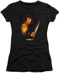 Rambo III juniors t-shirt Blood Lust black