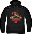 Rambo III pull-over hoodie French Poster adult black
