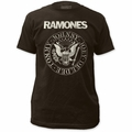 Ramones Distressed Seal Fitted Jersey t-shirt