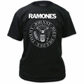 Ramones Presidential Seal Adult t-shirt black Size: 2XL