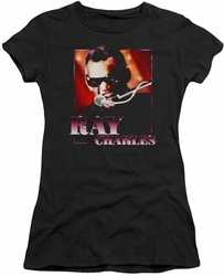 Ray Charles juniors t-shirt Sing It black