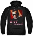 Ray Charles pull-over hoodie Sing It adult black