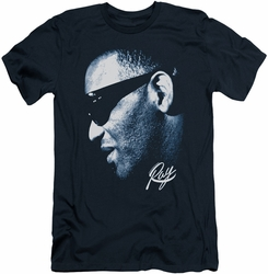 Ray Charles slim-fit t-shirt Blue Ray mens navy