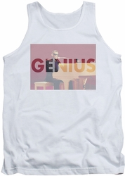 Ray Charles tank top Genius Knockout mens white