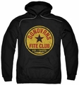 Ray Donovan pull-over hoodie Fite Club adult black