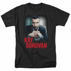 Ray Donovan t-shirt Clean Hands mens black