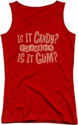 Razzles juniors tank top What Is This red