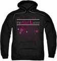 Real L Word pull-over hoodie Flashy Logo adult black