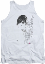 Real L Word tank top Looking Shane Today mens white