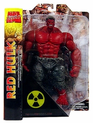 Red Hulk action figure Marvel Select *box wear*