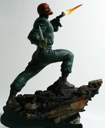 Red Skull Action Statue Bowen Designs 2013