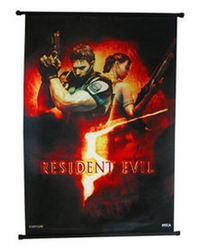 Resident Evil 5 Wall Scroll Box Art