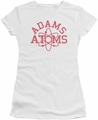 Revenge Of The Nerds juniors t-shirt Adams Atoms white