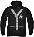 Revenge of the Nerds pull-over hoodie Tri Lambda Sweater adult black