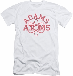 Revenge Of The Nerds slim-fit t-shirt Adams Atoms mens white