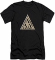 Revenge Of The Nerds slim-fit t-shirt Tri Lambda Logo mens black