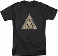 Revenge Of The Nerds t-shirt Tri Lambda Logo mens black