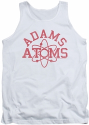 Revenge Of The Nerds tank top Adams Atoms mens white