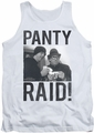 Revenge Of The Nerds tank top Panty Raid mens white