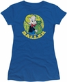 Richie Rich juniors sheer t-shirt Baller royal blue