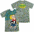 Richie Rich mens full sublimation t-shirt Let It Rain