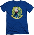 Richie Rich slim-fit t-shirt Baller mens royal blue