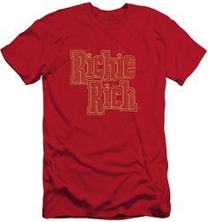 Richie Rich slim-fit t-shirt Stacked mens red