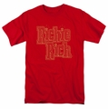 Richie Rich t-shirt Stacked mens red