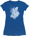 Rise Of The Guardians juniors t-shirt Coming For You royal blue