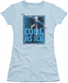 Rise Of The Guardians juniors t-shirt Jack Frost light blue