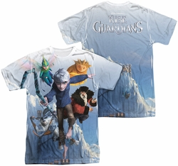 Rise Of The Guardians mens full sublimation t-shirt Together Now