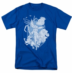 Rise Of The Guardians t-shirt Coming For You mens royal blue