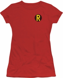 Robin juniors t-shirt Logo red