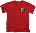 Robin kids t-shirt Logo red