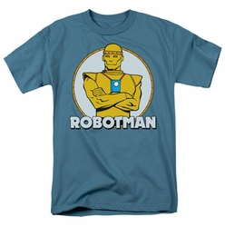 Robotman t-shirt DC Comics mens