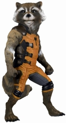 Rocket Raccoon Full Size Figure Guardians of the Galaxy pre-order
