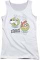 Mr Peabody & Sherman juniors tank top Gadgets white