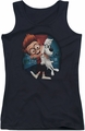 Mr Peabody & Sherman juniors tank top Team Work black