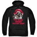 Rocky Horror Picture Show pull-over hoodie Casting Throne adult Black