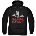 Rocky Horror Picture Show pull-over hoodie Creature Of The Night adult Black