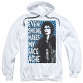 Rocky Horror Picture Show pull-over hoodie Face Ache adult White