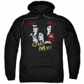 Rocky Horror Picture Show pull-over hoodie Oh 3 Ways adult Black