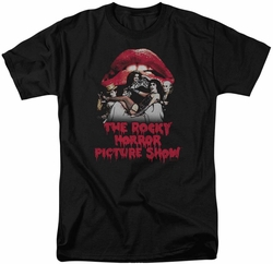 Rocky Horror Picture Show t-shirt Casting Throne mens black
