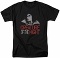 Rocky Horror Picture Show t-shirt Creature Of The Night mens black
