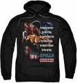 Rocky II pull-over hoodie One and Only adult black