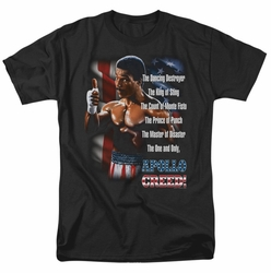 Rocky II t-shirt The One And Only mens black