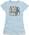 Rocky juniors t-shirt Big Fight light blue