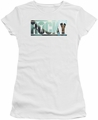Rocky juniors t-shirt Cutout Logo white