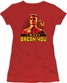 Rocky juniors t-shirt I Must Break You red